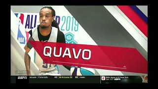 All Star Celebrity Game Famous Los MVP 22pts