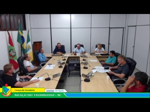 Transmissão ao vivo das Sessoes da Câmara de Vereadores Braço do Trombudo - SC