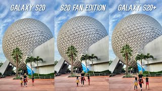Samsung Galaxy S20 FE vs Samsung Galaxy S20+ vs Samsung Galaxy S20 Full Comparison with Detailed Camera Test!
