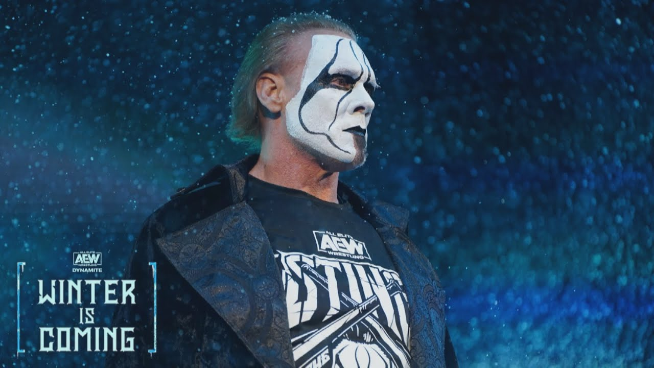 AEW Announces Sting Will Appear On Wednesday's AEW Dynamite