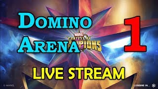 Domino Arena - Round 2 - Part 1 | Marvel Contest of Champions Live Stream