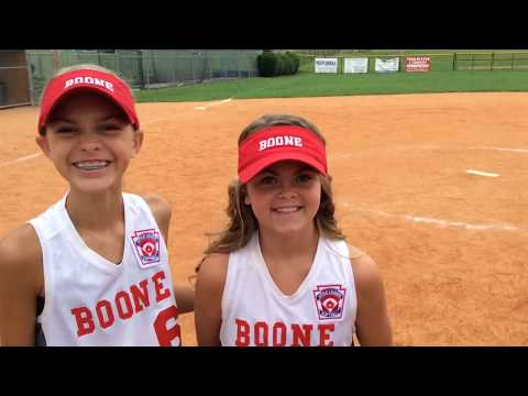 Video: Boone Little League softball