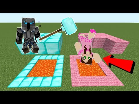 Minecraft: GIANT TOOLS!! (HUGE HAMMERS, SHOVELS, & AXES!) Mod Showcase