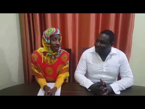 Eric Omondi: Eric Omondi imitates Lulu Hassan, Rashid Abdalla anchoring news