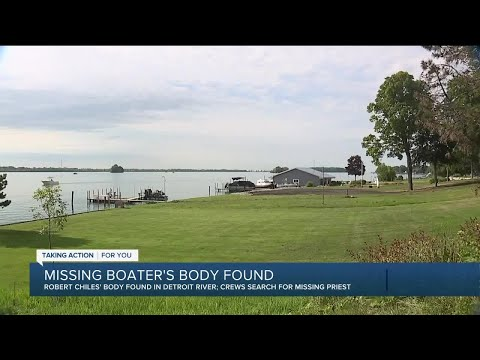 Body of 1 of 2 missing boaters from Grosse Ile recovered in Detroit River