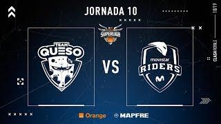 Team Queso VS Movistar Riders | Jornada 10 | Temporada 2018-2019