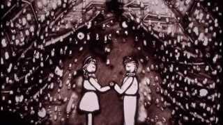 披露宴用のサンドアートパフォーマンス映像ブライダル、ウェディング
