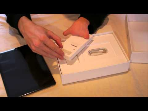 Unboxing: iPad Air, 128GB, WiFi + 4G, Spacegrau & Vergleich mit iPad 1 + 3 (Deutsch) HD