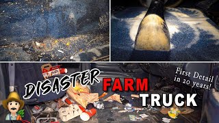 Deep Cleaning a DISASTER Farm Truck | Reviving an Old Chevy Truck!