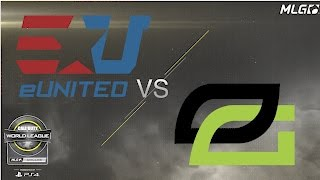 eUnited vs OpTic Gaming - Grand Finals - #CWLDallas