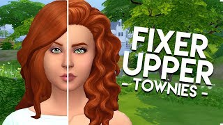 FIXING NINA CALIENTE  The Sims 4: Townie Makeover