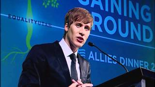 Equality Utah 2010 Allies Dinner: Keynote Speaker Dustin Lance Black (Part 1 of 2)