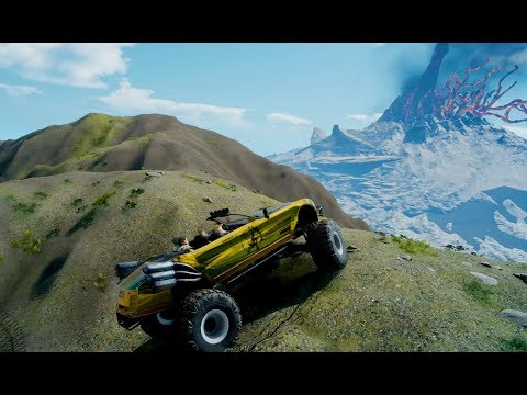 Final Fantasy XV Exclusive Climbing The Mountain With Regalia Type D