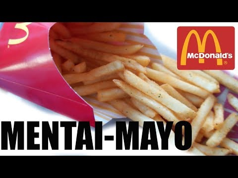 McDonald's Japan MENTAI MAYO FRIES  Taste Test