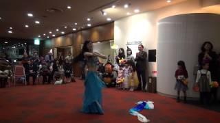 20141031岡山国際ホテルハロウィンパーティAyumiファンベール