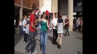 preview picture of video 'Floorplay Jive! Busk - Part 2 - Exeter Guildhall, 6th October 2012'