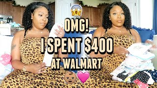 Shopping For Baby Girl 👶🏽💕| I Went A Little Crazy 💸💰First Time Baby Shopping