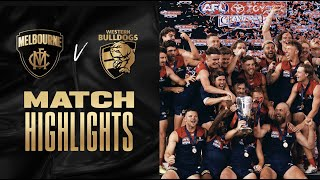 Melbourne v Western Bulldogs Highlights   2021 Toyota AFL Grand Final   AFL