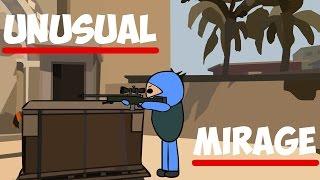 CS:GO Cartoon. Unusual Mirage