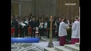 Католики отмечают Крещение