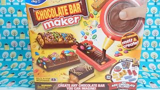 Chocolate Candy Bar Maker Moose Toys Make Your Own Chocolate Bars