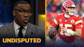 Mahomes will complete greatest playoff run by a QB if Chiefs win it all — Shannon | NFL | UNDISPUTED