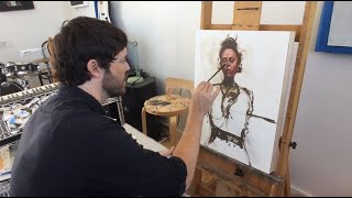 Studio Visit With Michael Carson To Discuss Our December Figurative Issue!