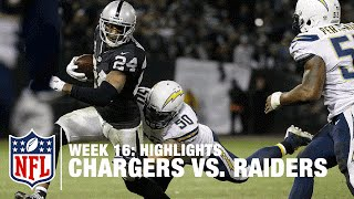 Chargers vs. Raiders | Week 16 Highlights | NFL