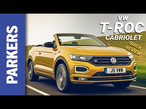 Volkswagen T-Roc Cabriolet Review Video