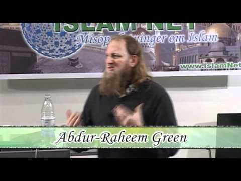 The Existence of God & Purpose of Life - LECTURE - Abdur-Raheem Green