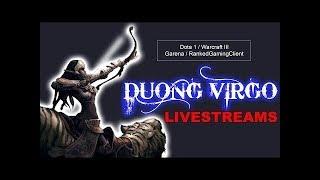 #Warcraft 3   Test Map 6.88x4 on RGC #Dota Allstar    HD Itachi - Duong Virgo Channel