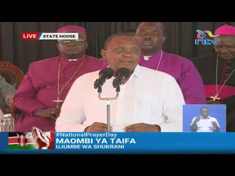 To those saying we should turn science, even science needs God - President Uhuru