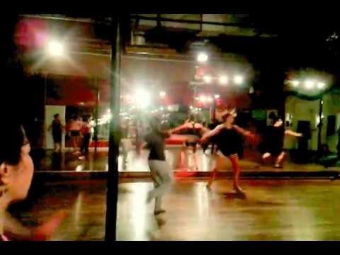 Millennium Dance Complex Ellis' class