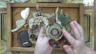 Using Found Object & Nature Finds In Artwork