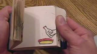 Flipbooks I made as a kid