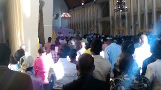 Mass at the Cathedral in Gonaives 2