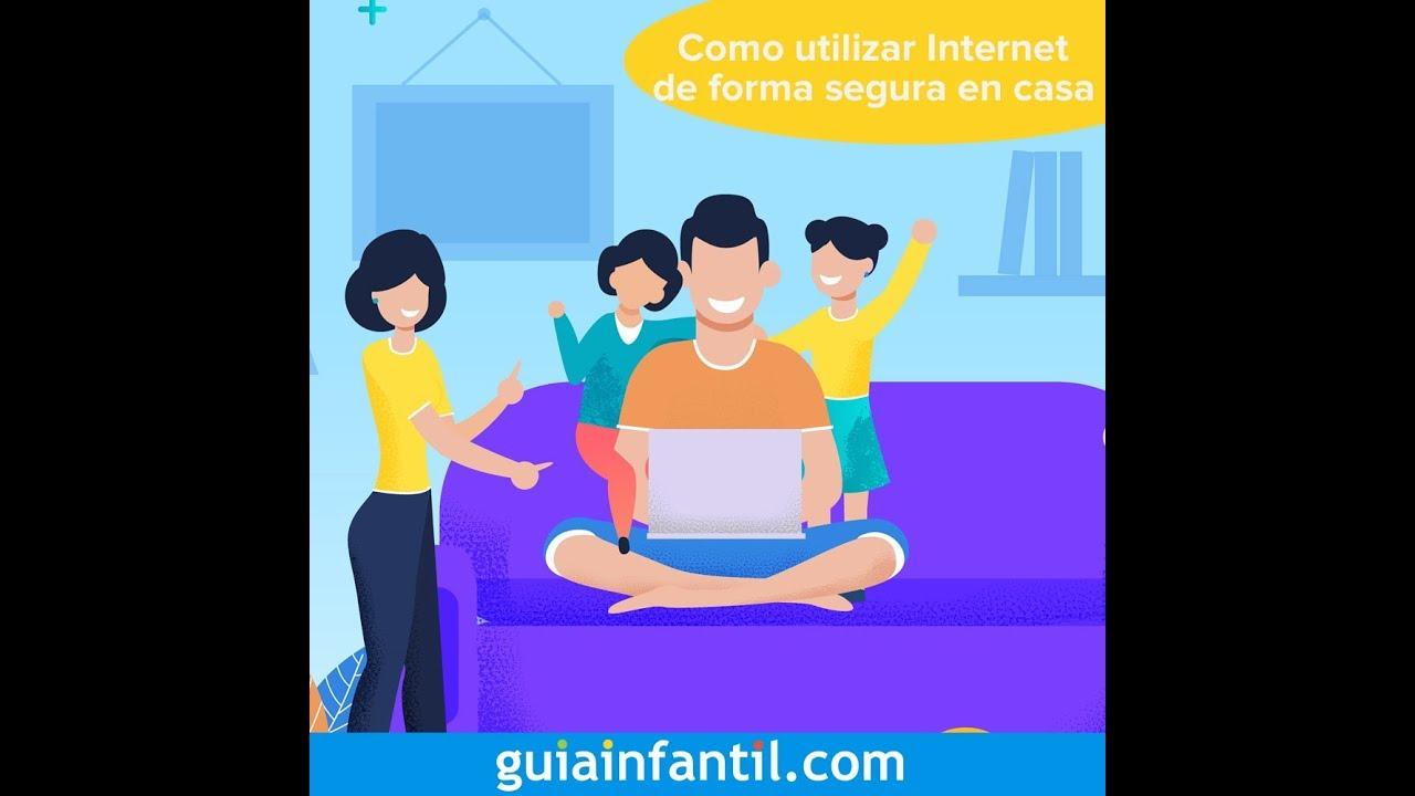Cómo utilizar internet de forma segura | 12 meses, 12 retos familiares