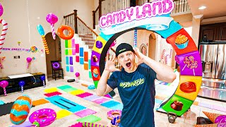 GIANT CANDY LAND GAMEBOARD CHALLENGE!