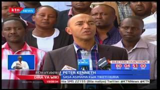 Peter Kenneth atangaza nia yake kugombea kiti cha ugavana Nairobi na kiti huru