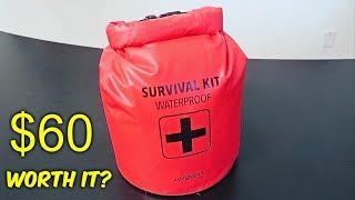 $60 Waterproof Survival Kit  from Walmart