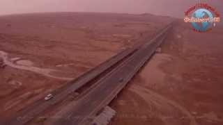 preview picture of video 'تصوير بالطيران الشراعي لجريان وادي الرمة وأمطارجنوب الرس (القشيع) 4-3-1435'