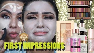 First Impressions | Makeup Revolution ONE Brand Tutorial | DRUGSTORE Fall Makeup || Ananya Artistry
