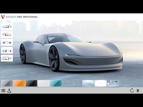 Autodesk Automotive Showreel 2018