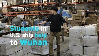 Harvard students are shipping medical supplies to Wuhan, China