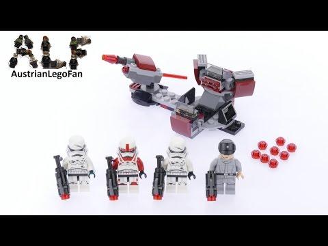 Vidéo LEGO Star Wars 75134 : Pack de combat de l'Empire Galactique