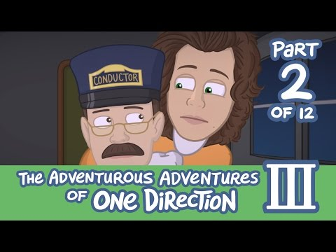 The Adventurous Adventures of One Direction 3:  Part 2
