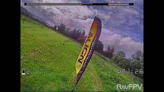 Dancing with the gates FPV Racing