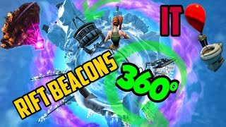 360° Fortnite |  IT Pennywise Balloons | Kevin cube | New Map Event Polar Peak / Paridise Palms SOON