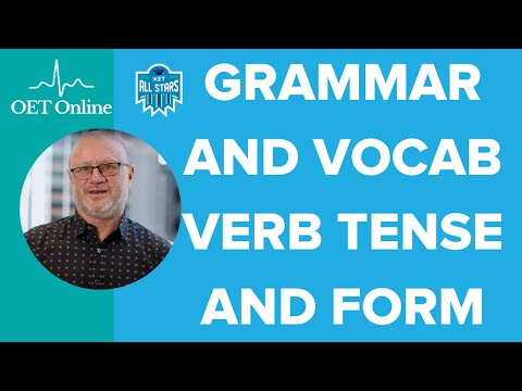 Prep Hour with Steve from @OET Online | Grammar and Vocabulary