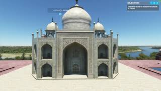 Microsoft Flight Simulator 2020 - A Complete Visit to Taj Mahal
